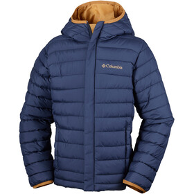 Columbia Powder Lite Puffer Boys Collegiate Navy/Maple